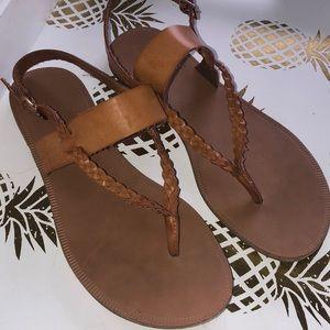 Braided Twist Sandal